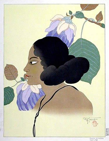 Fleurs Violettes. Tomil, Yap, 1937