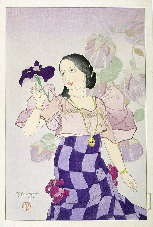 Portrait of a Chamorro Woman - Violet, 1934