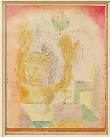 Enlightenment of two Sectie, 1918 - Paul Klee
