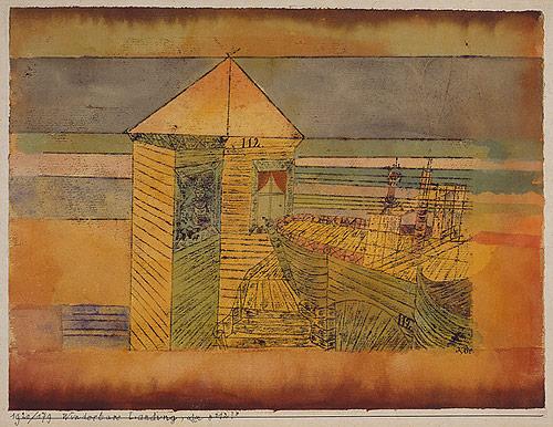 Miraculous Landing - Paul Klee