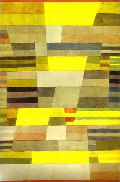 Monument, 1929 - Paul Klee