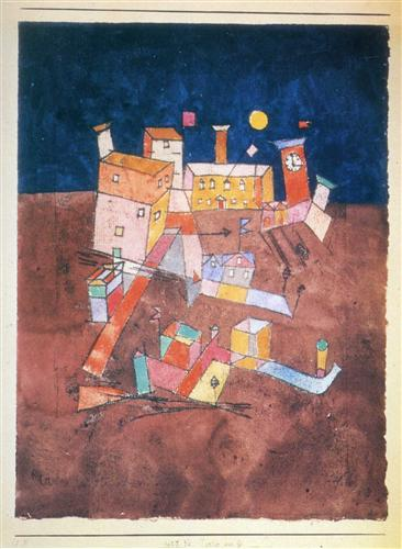Part of G - Paul Klee