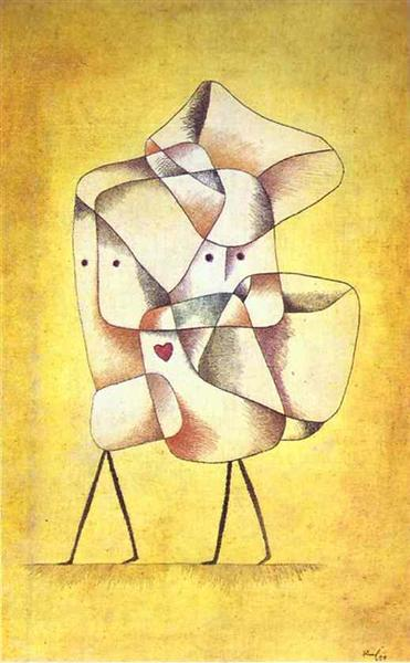 Siblings, 1930 - Paul Klee