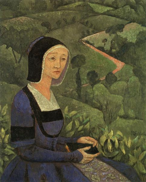 A Widow, 1919 - Paul Serusier