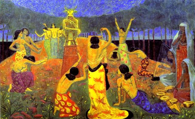 The Daughters of Pelichtim, 1908 - Paul Serusier