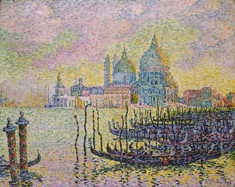 Grand Canal (Venise), 1905 - Paul Signac