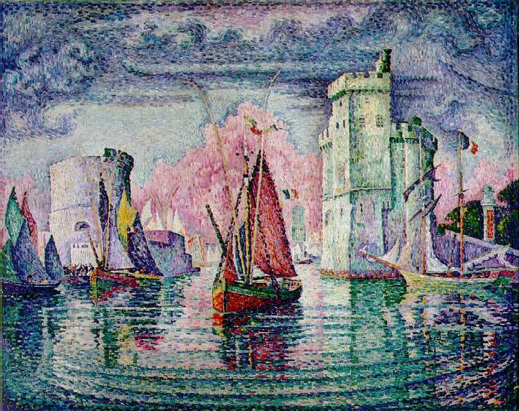 Port of La Rochelle, 1921 - Paul Signac