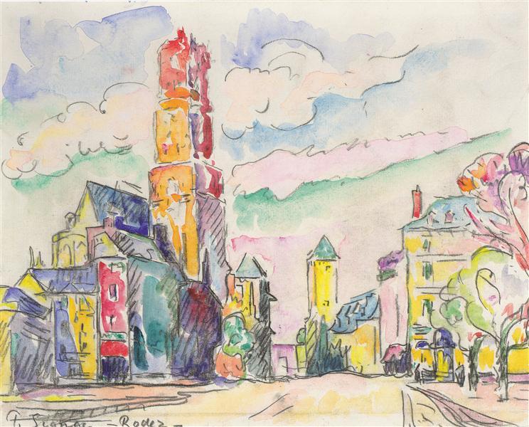 Rodez, c.1923 - Paul Signac