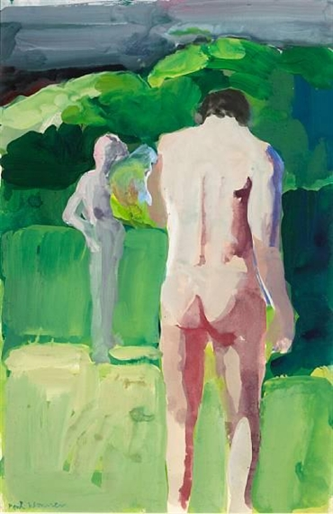 Figures in Sunlight - Paul Wonner