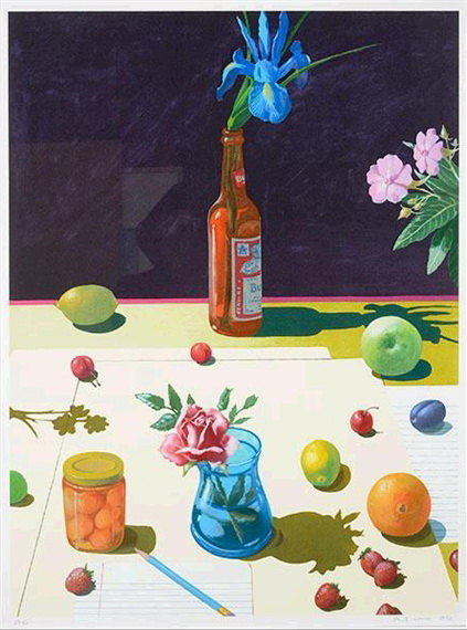 Still Life with Bud - Paul Wonner