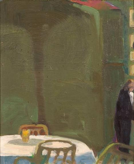 The Waiter, 1967 - Paul Wonner