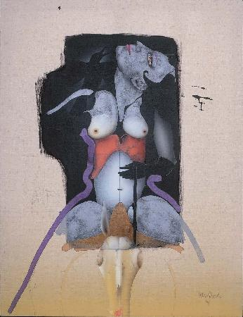 La Chevaliere Dangereuse, 1994 - Paul Wunderlich