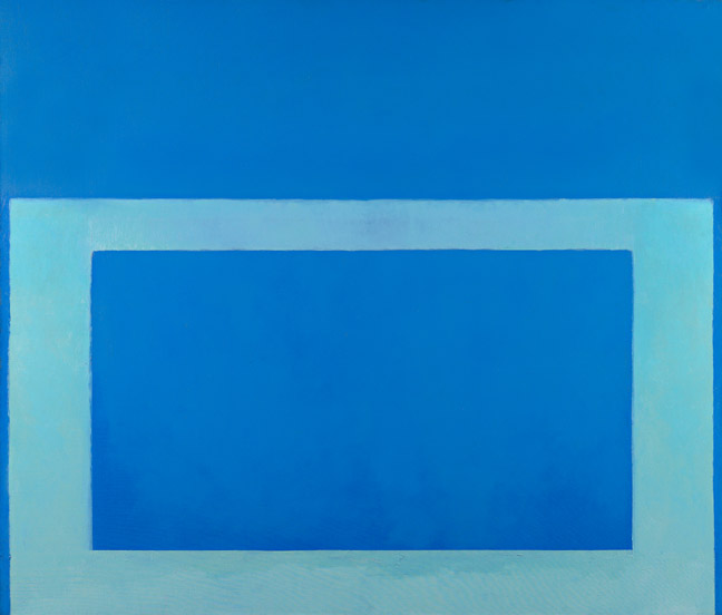 """Cool"" Series No. 29 (Cool Blue, Cold Green), 1963 - Perle Fine"