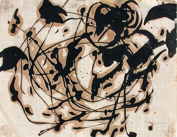 Untitled, 1957 - Perle Fine
