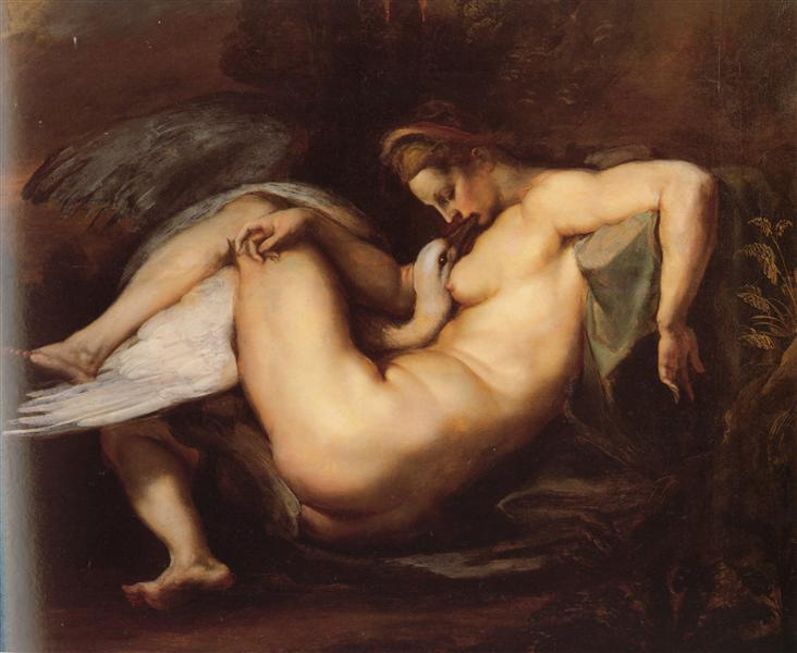 Leda and the Swan, c.1598 - c.1600 - Peter Paul Rubens