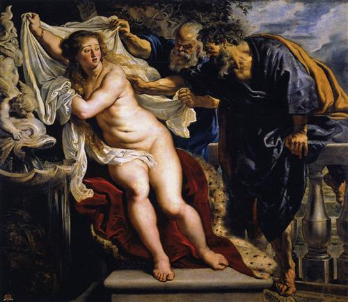 Susanna and the Elders - Peter Paul Rubens