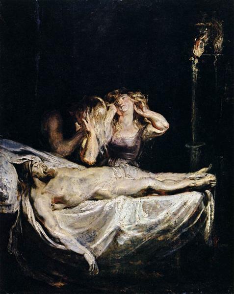 The Lamentation, c.1609 - Питер Пауль Рубенс