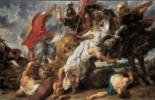 The Lion Hunt - Peter Paul Rubens