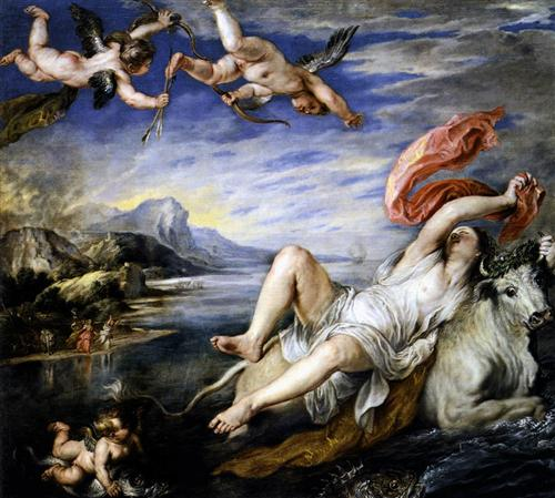 The Rape of Europa - Peter Paul Rubens