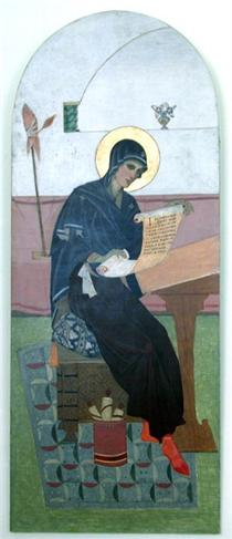 Icon of the Mother of God - Петро Холодний (старший)