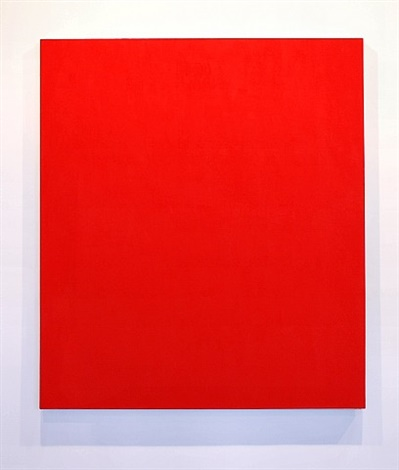 Untitled (Red) - Phil Sims