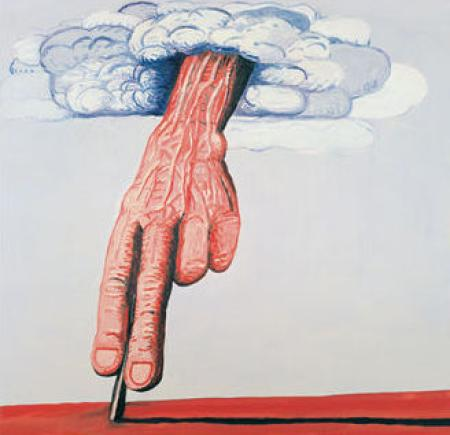Line - Philip Guston