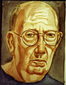 Self-Portrait, 2000 - Philip Pearlstein