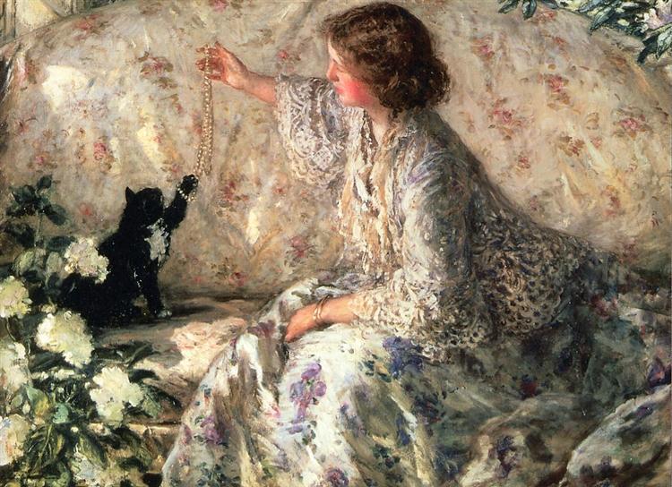 Hydrangeas, 1901 - Philip Wilson Steer