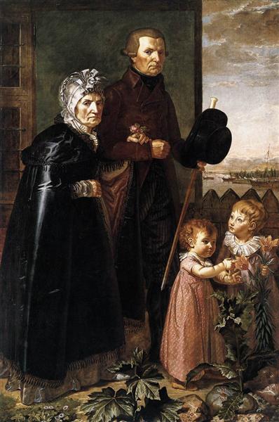 The Artist's Parents - Philipp Otto Runge