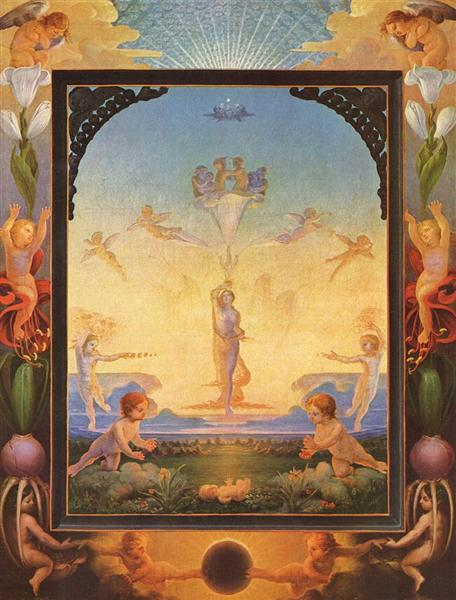 The Morning, 1808 - Philipp Otto Runge