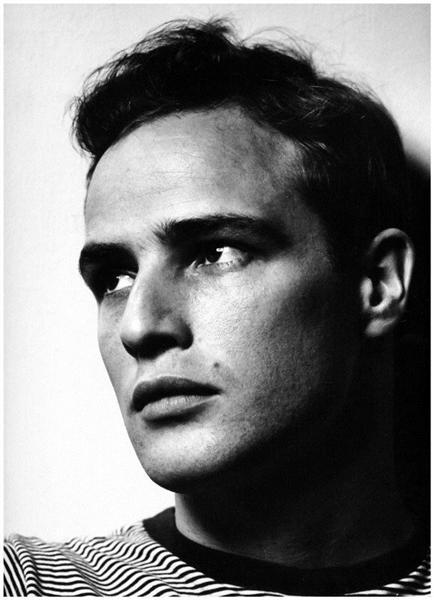 Marlon Brando, 1950 - Philippe Halsman