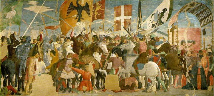 Battle between Heraclius and Chosroes - Piero della Francesca
