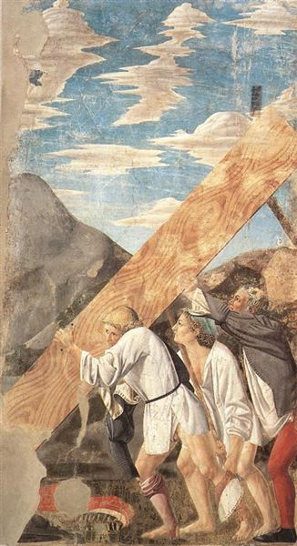 Burial of the Holy Wood, 1464 - Piero della Francesca