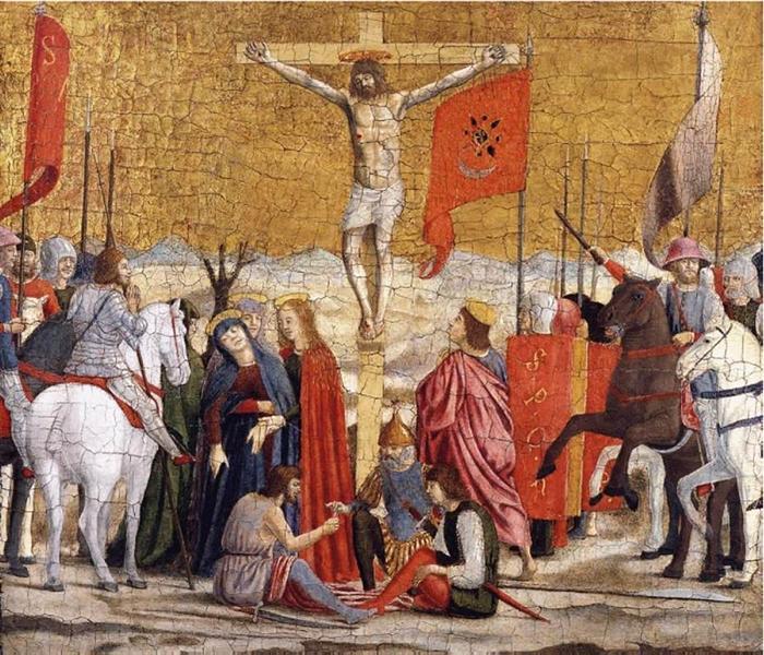 Crucifixion, c.1460 - Piero della Francesca