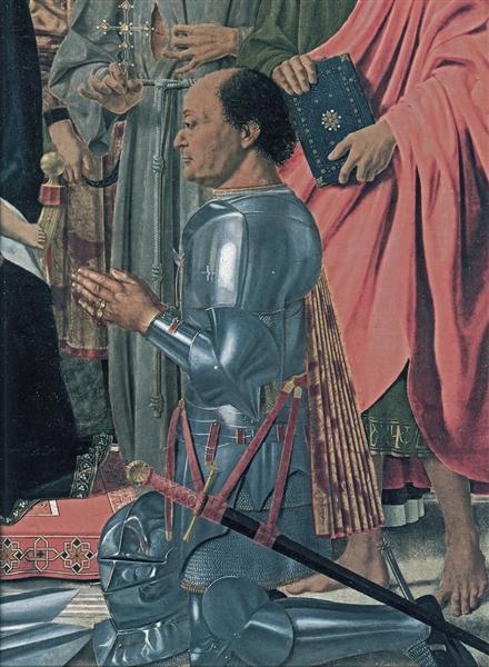 Federico da Montefeltro, 1472 - Piero della Francesca