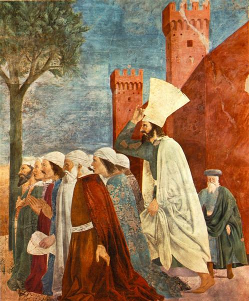 Heraclius Restores the Cross to Jerusalem, 1464 - Piero della Francesca
