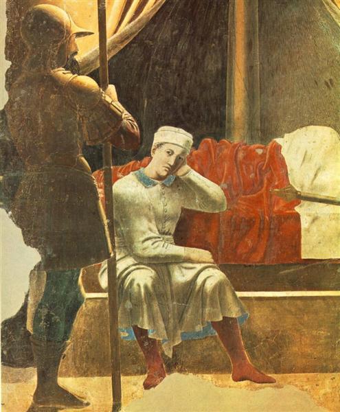Vision of Constantine (detail), 1452 - 1466 - Piero della Francesca