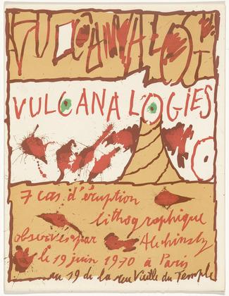 Vulcanalogies, 1970 - Pierre Alechinsky
