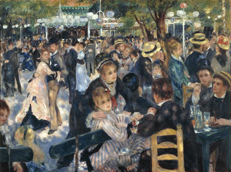 Dance at Moulin de la Galette - Pierre-Auguste Renoir