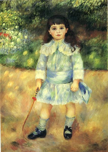 Child with a Whip, 1885 - Pierre-Auguste Renoir