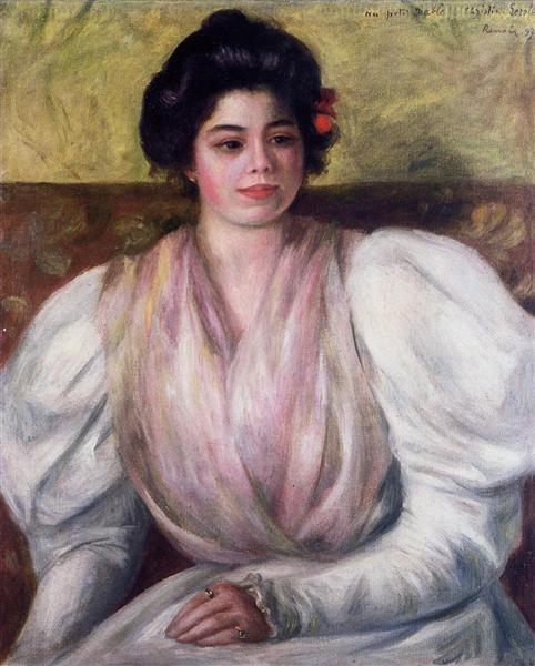 Christine Lerolle, 1897 - Pierre-Auguste Renoir