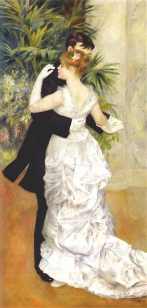 Dance in the City, 1883 - Pierre-Auguste Renoir