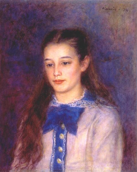 Portrait of Therese Berard, 1879 - Pierre-Auguste Renoir