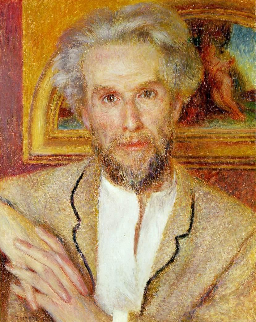 Portrait of Victor Chocquet, 1875 - Pierre-Auguste Renoir ...
