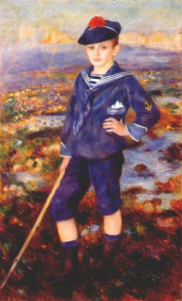 Sailor Boy (Portrait of Robert Nunes), 1883 - Pierre-Auguste Renoir