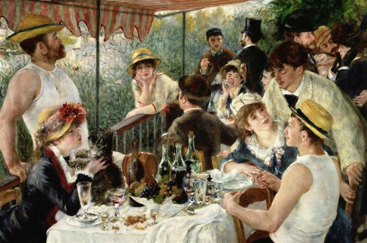 The Luncheon of the Boating Party, 1880 - 1881 - Pierre-Auguste Renoir