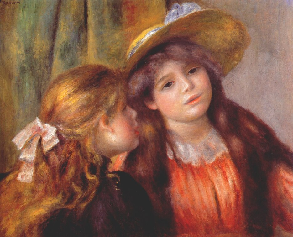 Two Girls by Pierre Auguste Renoir, 1892