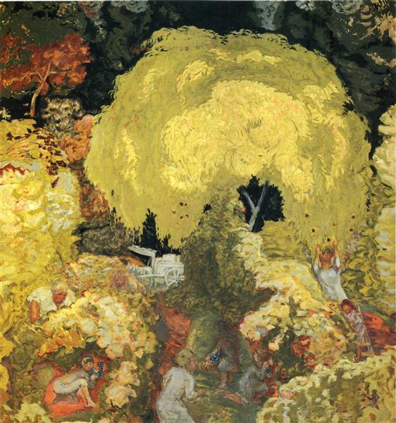 Autumn: The Fruit Pickers, 1912 - Pierre Bonnard
