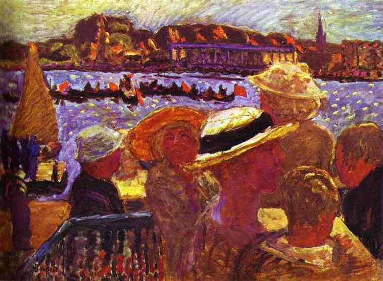 Hamburg, Picnic, 1908 - 1912 - Pierre Bonnard