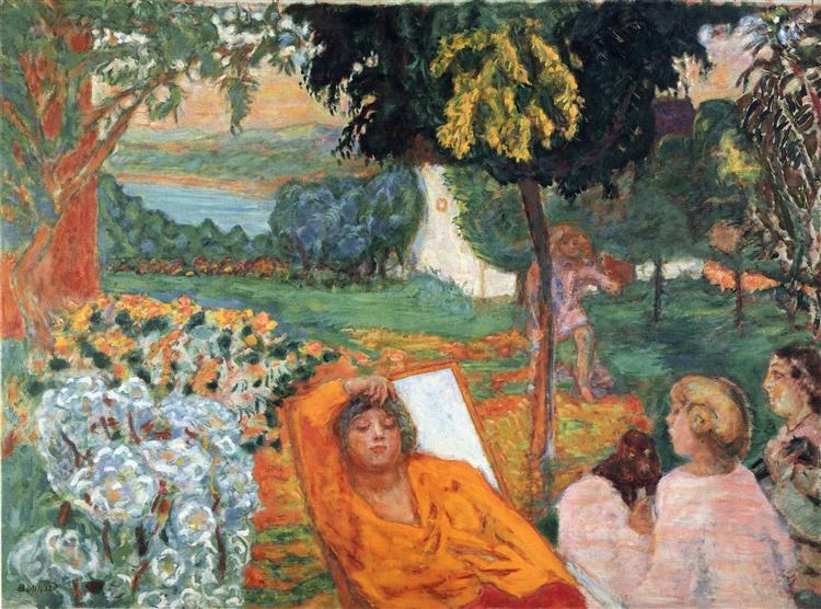 Siesta, 1914 - Pierre Bonnard